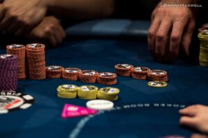 What is poker bluffing